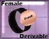DERIVABLE FEMALE WATCH
