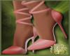 LS~Pink Hearts Heels