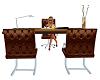 brown desk ani