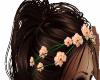 Pink Rose Hair Flowers