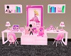 40%Kids Pink Barbie Desk