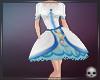 [T69Q] Cure white Dress