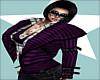 Boss~Wool Jacket Purple