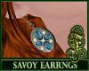 Savoy Earrings Blue
