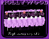 purple wedding party tbl