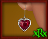 Diamond Heart Ruby ER