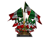 Mexican Flags Stand