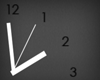 simple wall clock two