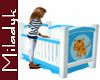 MLK Blue Crib