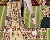 Antique Christmas Apron