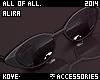 |< Alira! Sunglasses!