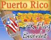*KH* PR R Flag Bracelet