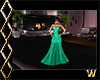 Elegant Sea Green Gown
