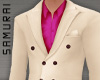 #S Solid Suit A #Cream