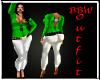 BBW May Casual Green