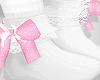 d. cute socks pink