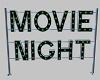 Movie Night Marquee