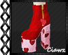 ☪ Heart Beat Red Boots
