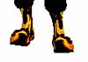 Flamey Black Boots