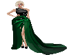 BLACK & GREEN GOWN