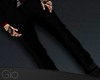[G] Black Suit Pants