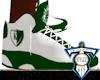 Wht/Grn KD Shoesz