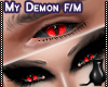 [CS] My Demon Eyes. F/M