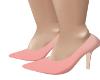 Contour Peach Heels