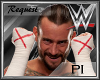 PI: CM Punk Kickpads Red