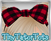 Kids Plaid Bow