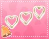 🔔 Gld Heart Earrings