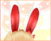 ~R~ Party bunny ears red