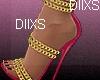 #Chain Heels