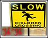 Kids Crossing Sign