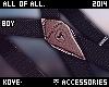 Junino Black Suspenders