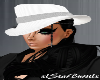 White Mafia Hat