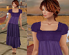 TF* Modest Purple Dress