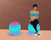 Seats 2 Spheres Glows