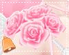 🔔 Pink Shoulder Roses