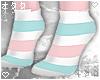 ☯Blue/Pink-Socks☯