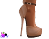 peach pinup heels