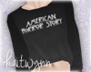 ahs cropped sweater | v2