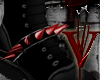 -V- R Red Spiked Spur