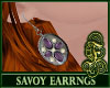 Savoy Earrings Purple