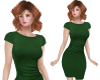 TF* Modest Green Dress