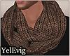 [Y] Brown scarf M