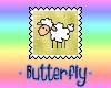 Cute Lamb Sheep Stamp