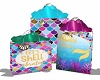 kids mermaid gift bags