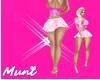 👑 Colegial Pink Skirt