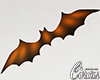 C` Orange Wall Bat